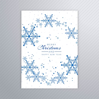 美しいメリークリスマスパーティーのポスター