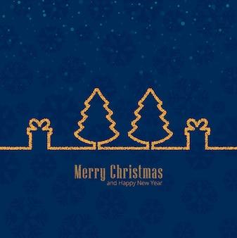 メリークリスマスのお祝いの背景