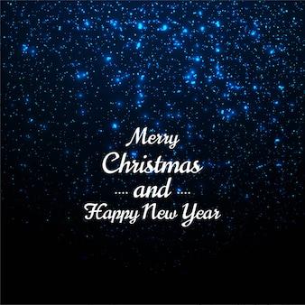 Красивый веселый рождественский блеск фон