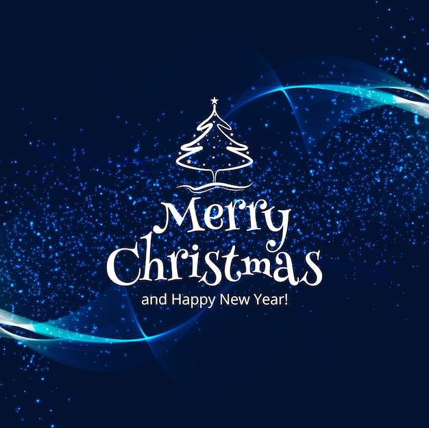 美しいメリークリスマスの祝賀カラフルなカードの背景