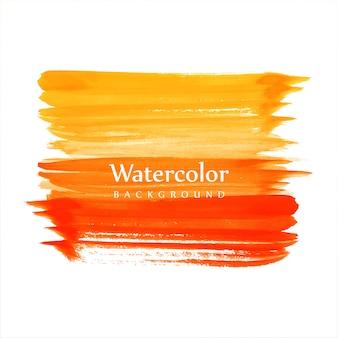 美しい水彩画のカラフルなストロークの背景