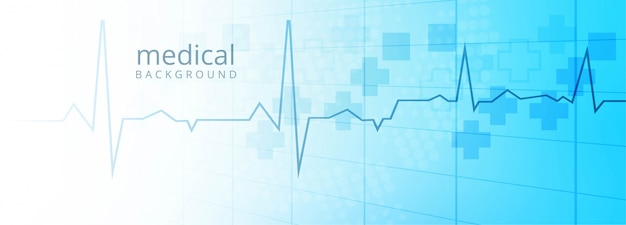 ヘルスケアと医療のバナーテンプレートの背景