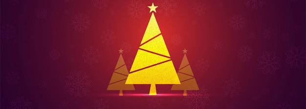 美しいクリスマスのバナー