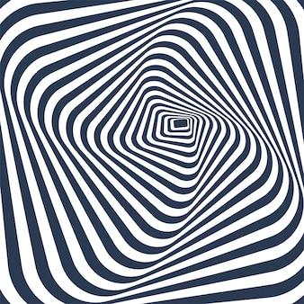 ジグザグ線で抽象的な幾何学模様