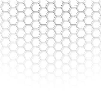 抽象的なハイテク六角形ベクトル