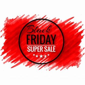 Красивый плакат продажи черной пятницы