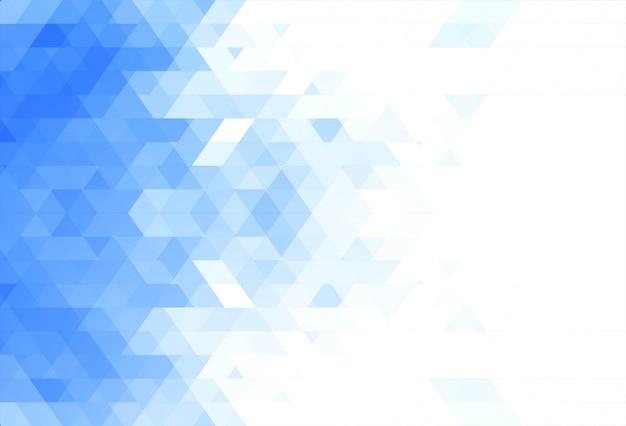 抽象的なブルーの幾何学図形の背景