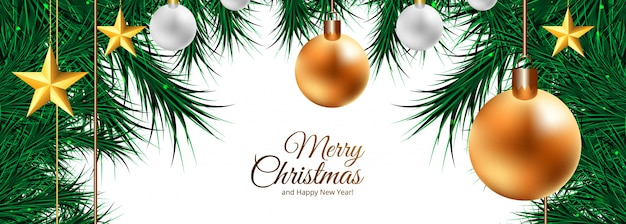 休日のクリスマス装飾ボール