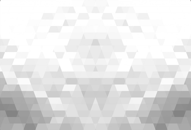 抽象的な灰色の幾何学的図形の美しい背景