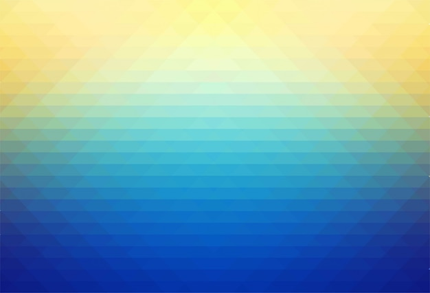 抽象的なカラフルな幾何学的図形の背景