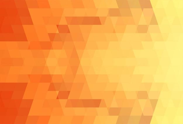 抽象的な三角形パターンのカラフルな背景