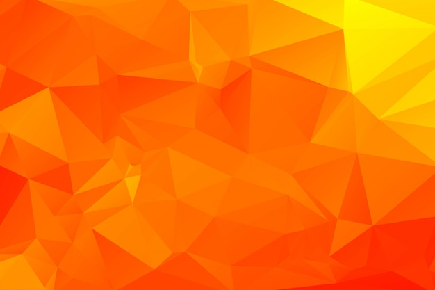 抽象的なカラフルな幾何学的な多角形の背景イラスト