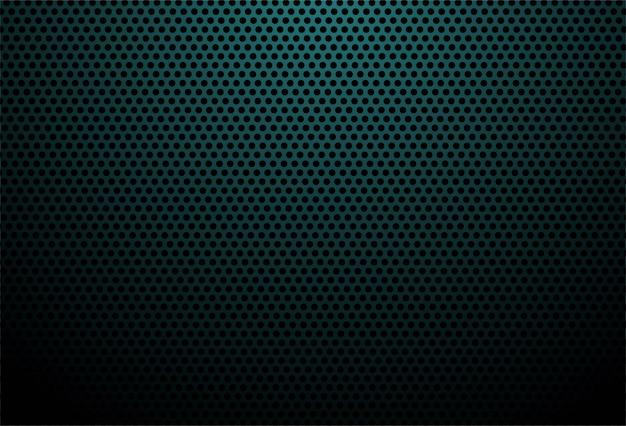 青い炭素繊維テクスチャ背景