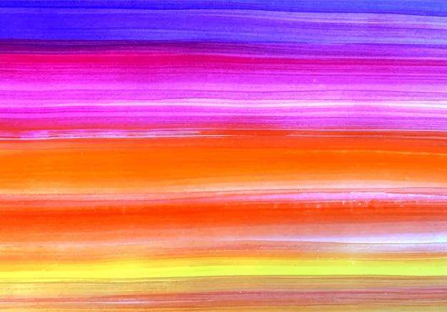 色とりどりのストリップテクスチャに描かれた抽象