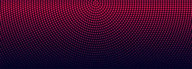 Современный полутоновый баннер