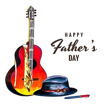 Красивая открытка на счастливый день отца