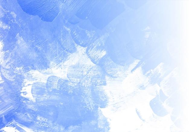 抽象的な青い水彩テクスチャ背景