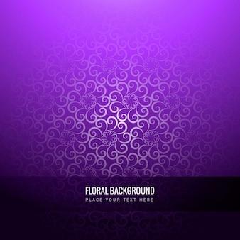Фиолетовый цветочный фон