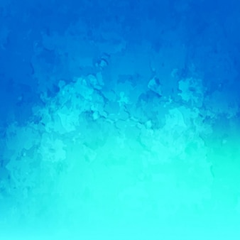ブルー水彩画の背景