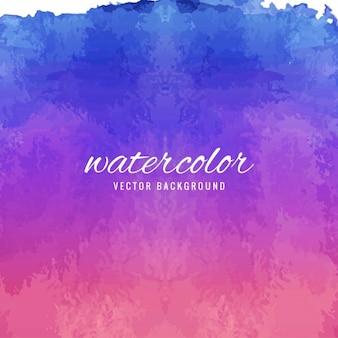 紫と青の色調で水彩画の背景