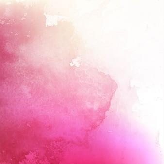 Художественная акварель текстуры, розовый цвет