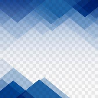 Голубой геометрический фон