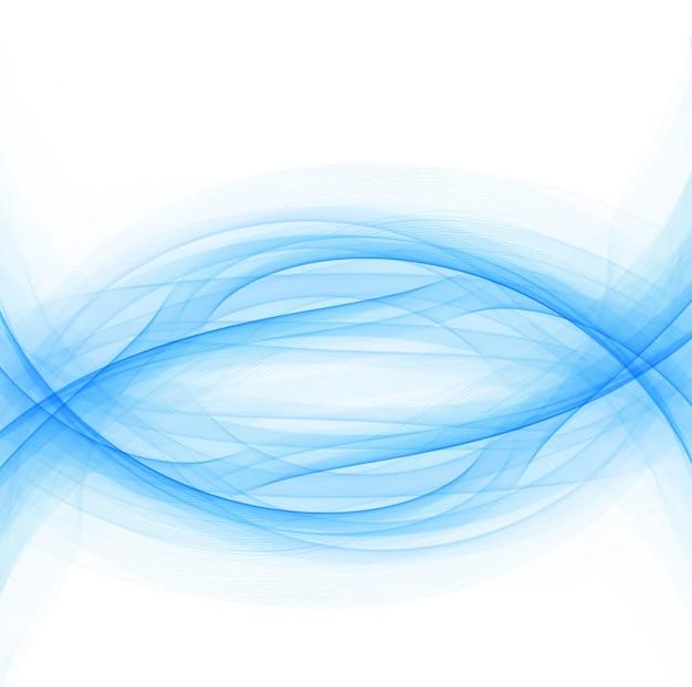 現代の青い波の背景