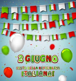 Национальный праздник итальянской республики
