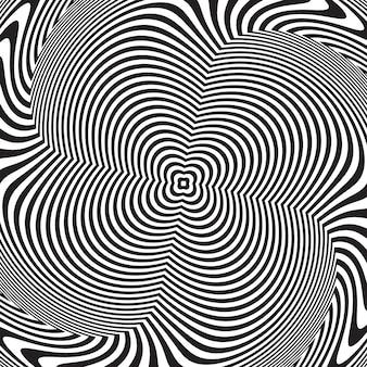 目の錯覚、抽象的なツイスト背景