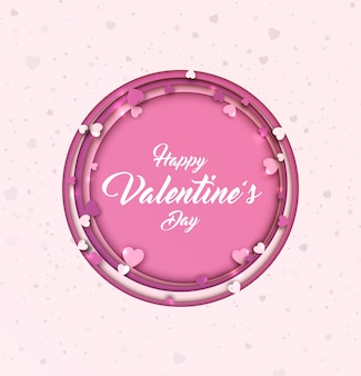 День святого валентина фон. бумага художественная с сердечками