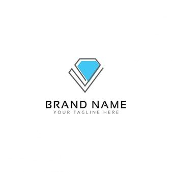 宝石店のロゴ