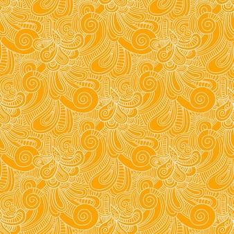 黄色のパターンを旋回します