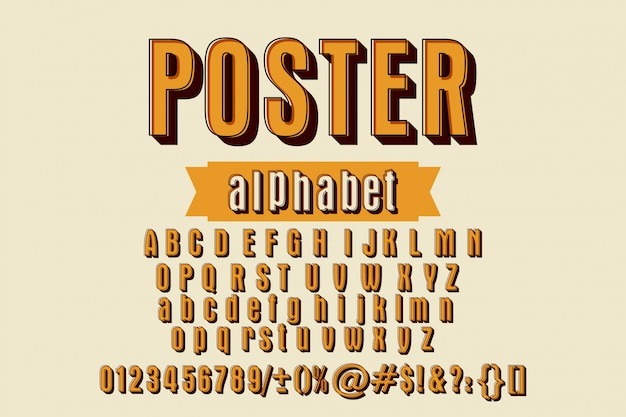 Азбука алфавита. набор наклеек стиль букв алфавита, цифр и знаков препинания.