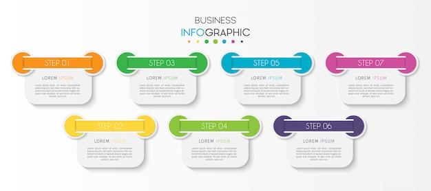 Инфографики элемент графика времени шаги или варианты