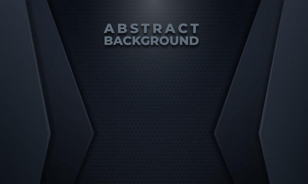 ドットパターンと抽象的な暗い灰色の背景