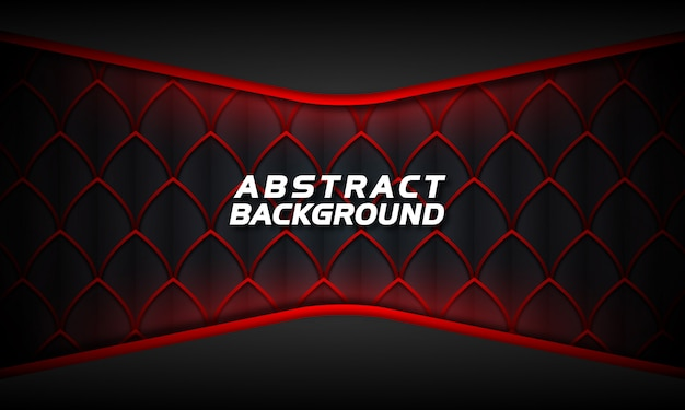 暗い背景に抽象的なグロー赤