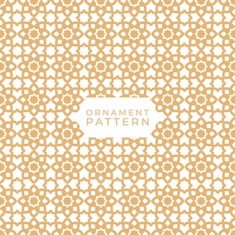 シームレスなイスラム幾何学模様のテクスチャ