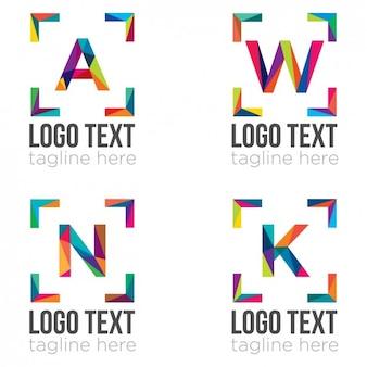 Шаблоны логотипов коллекция
