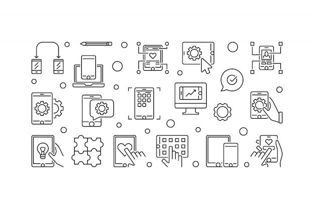 Баннер для разработки мобильных приложений