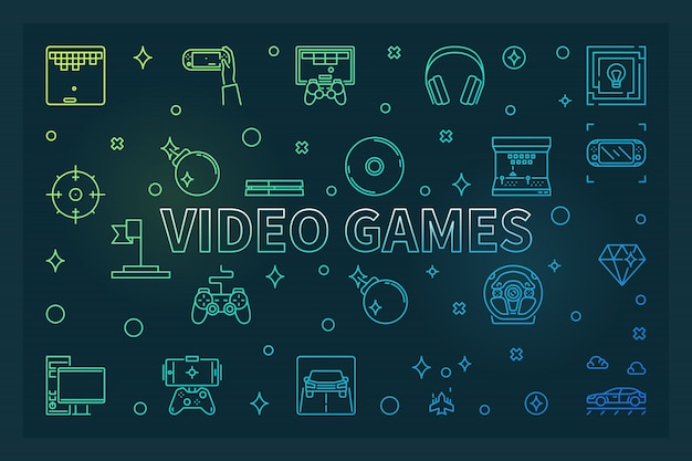 ビデオゲームの図