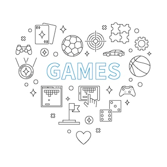 ゲームハートの概要図