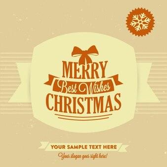 メリークリスマス、テンプレートを希望します