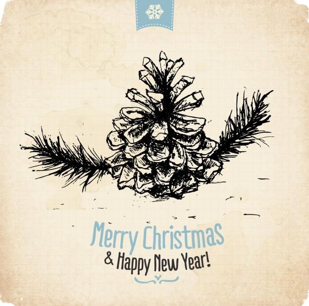 メリークリスマス&ハッピーニューイヤーの壁紙
