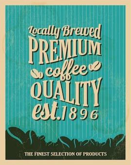 ブルーコーヒーの壁紙