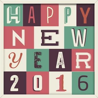 ハッピー新しい年の背景