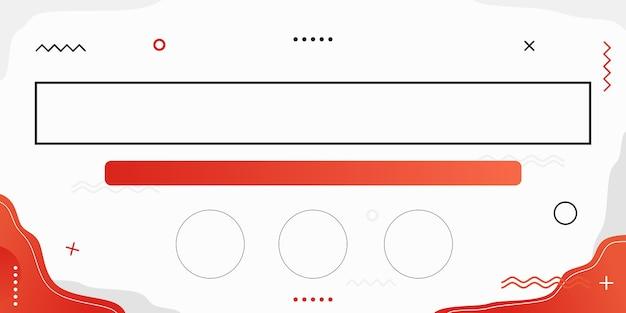 Резюме фон красный на белом