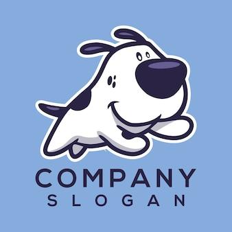 犬のロゴのベクトル