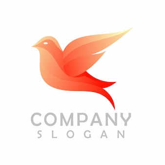 鳥のロゴデザイン