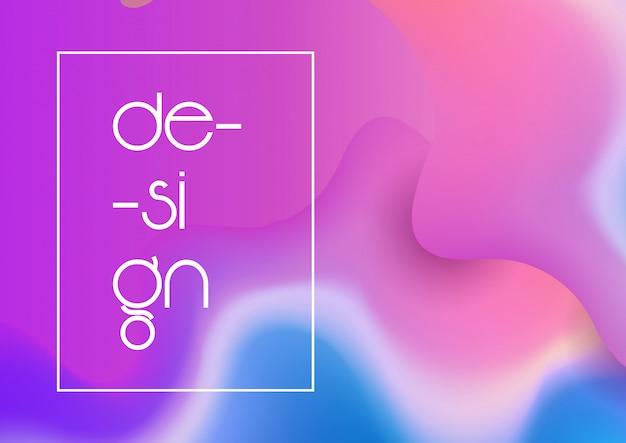 抽象的なグラデーションメッシュデザインの背景