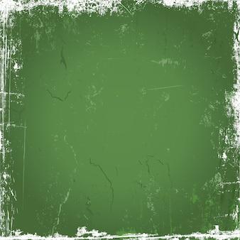 Зеленый гранж-фон